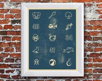 Icon Poster - Dave Matthews Band