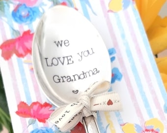 We Love You Grandma or Grandpa