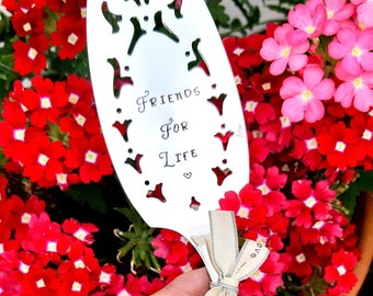 Friends For Life or Fancy A Slice - 1937 Cake Slice - Lovely Gift - English Vintage