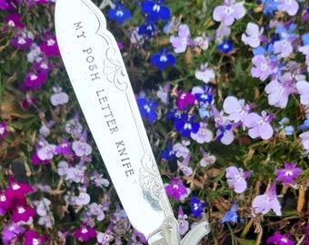 1929 Silver Handled My Posh Letter Knife, Letter Opener
