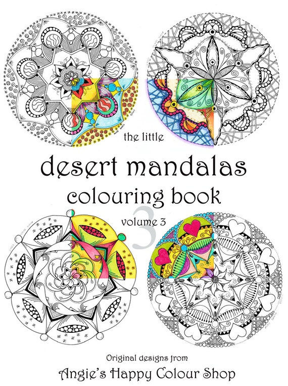 Mandala coloring art therapy wonderful adult coloring book | Etsy