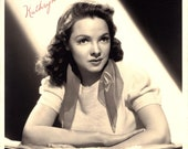 Kathryn Grayson Vintage Autographed Autograph Signed Hollywood Film Movie 1940 39 s Photograph Actress Singer