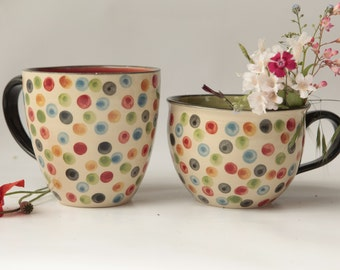 Dotted cups