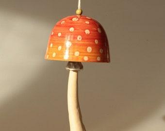 Red amanita bell