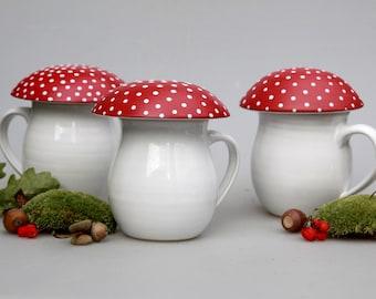 Mushroom mug Amanita / our choice