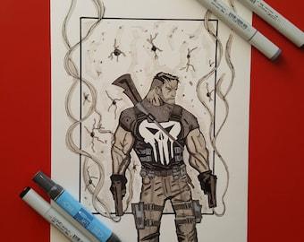 Marvel's The Punisher Art