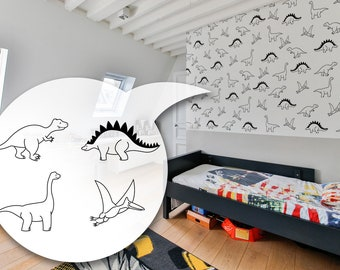 Dinosaur Decals - Dinosaur Stickers, Decals, Wall Decal Dinosaurs, Dinosaurs