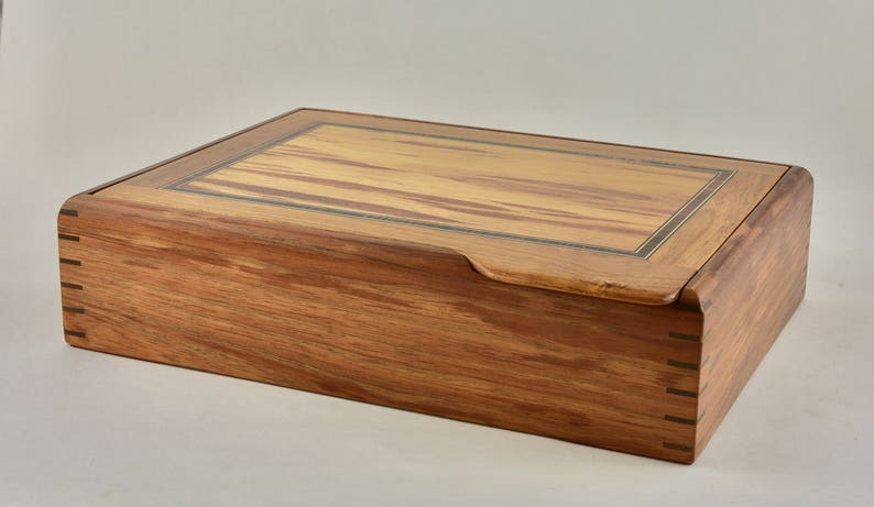 A4 Document Box storage Box handcrafted Document Box image 0