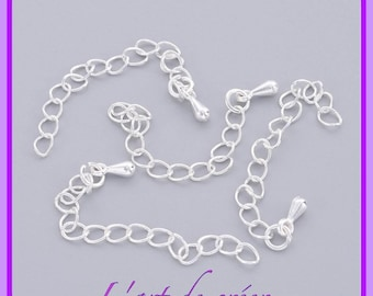 10 Extension chains with Silver Metal Drop