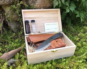 Damascus Knife Making Kit