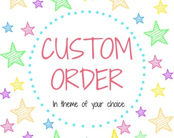 """16"""" Custom Theme Decorated Letters and Numbers"""