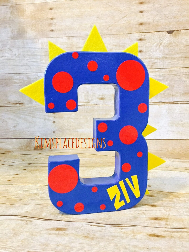 Dinosaur Decorations, Dinosaur Letters, Dinosaur Birthday Decor, Custom  Decor Letters, Dinosaur Party Decor, One, First Birthday Props
