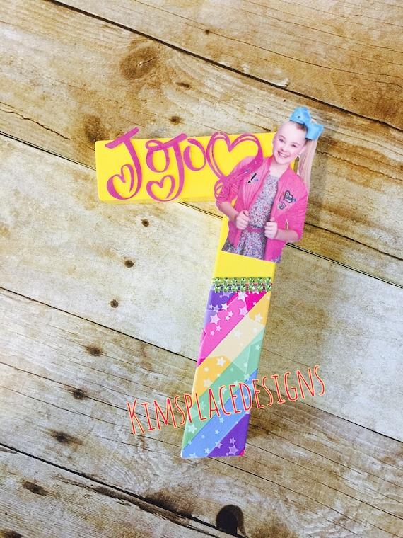 Jojo Siwa Party Decorations Jojo Siwa Letters Jojo Siwa Etsy