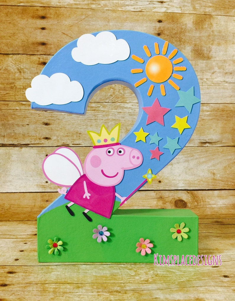 d31a75636f6 Peppa Pig Party Decorations Peppa Pig Birthday Decorations