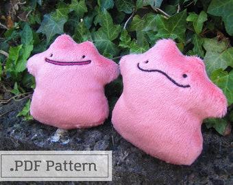 Pokemon Ditto Plush Pattern PDF