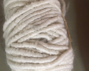 This 100 yard bump of very soft Pygora thick yarn is sold as an entire bump for making a beautiful throw blanket.
