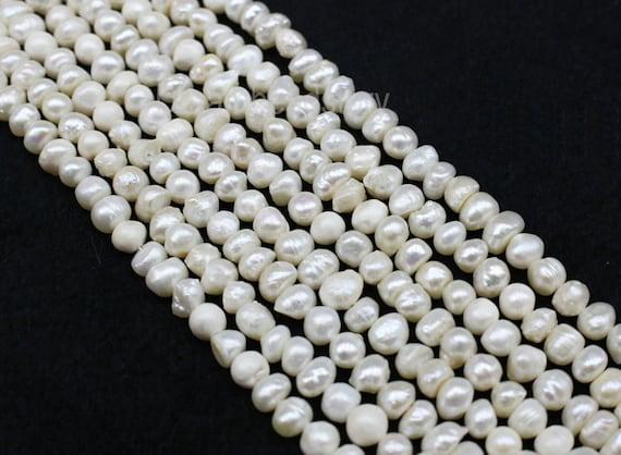 Lot 10 3mm-5mm Copper Freshwater Potato Irregular Pearls Loose Gemstone Beads