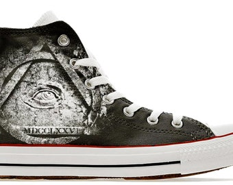 69c4e47698d154 illuminati all seeing eye masonic NWO new world order cult gothic custom  printed converse shoes sneakers 1776 sneakers