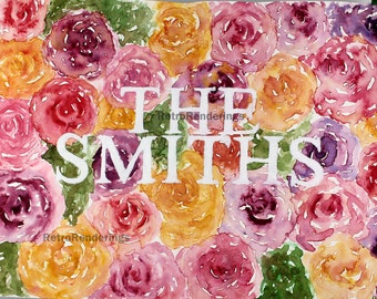The Smiths art print, poster, painting, watercolour