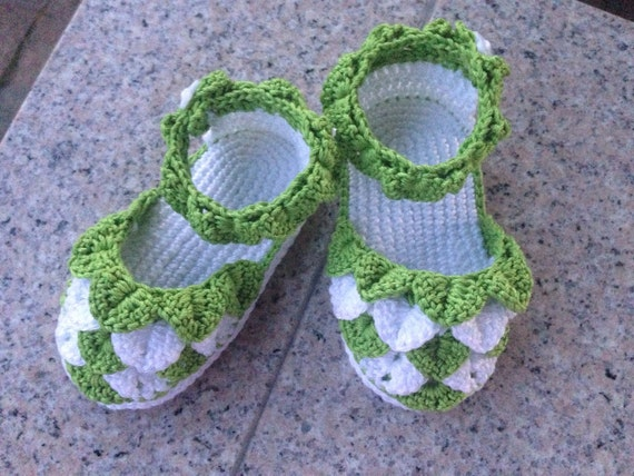 Crochet baby sandals, handmade baby girl shoes, baby girl sandals