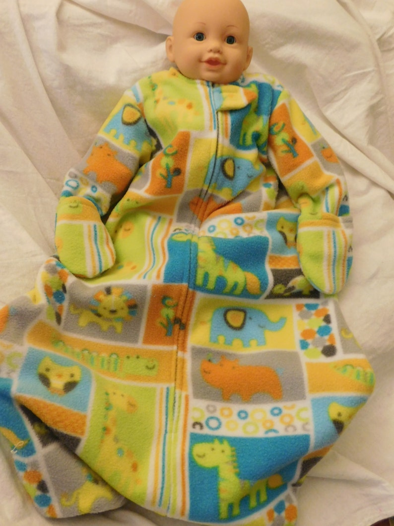 sports shoes b1f56 003a8 BABY SLEEP SACK -- Fleece with mittens, Large Only