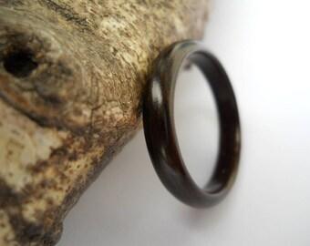 macassar ebony bentwood ring