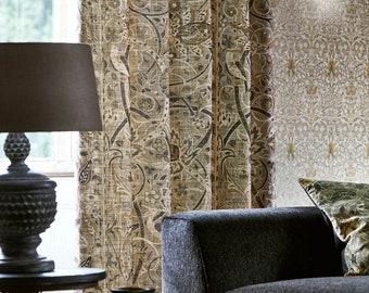 William Morris & Co Bullerswood Portiere Door Curtain