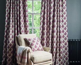 GP J Baker Poppy Paisley Curtains