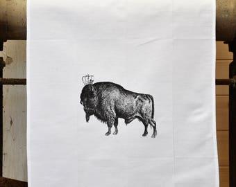 Tea Towel - The 'Royal Collection' - Bison