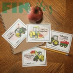 Lovely Tractor Valentines - (F)INstant Download