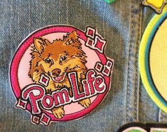 PomLife Pomeranian Embroidered Patch