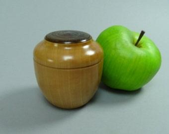 Bradford Pear Box with a Wood Insert