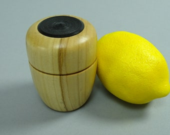 Maple Box with Black Wood Insert