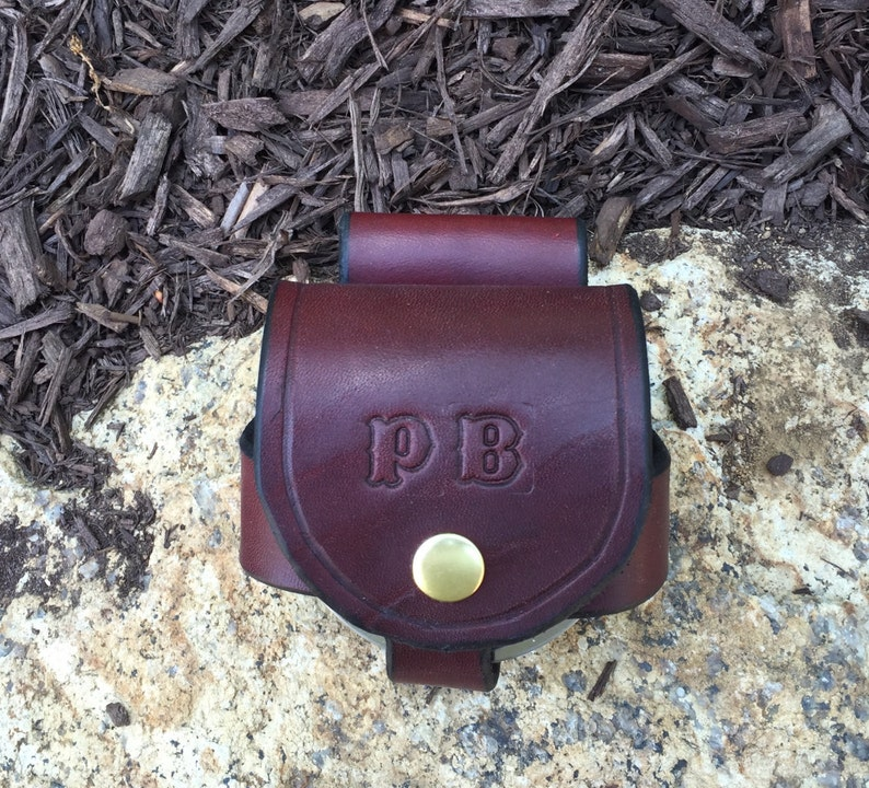Snuff-Smokeless-Dip Can Holder in Brown Free shipping