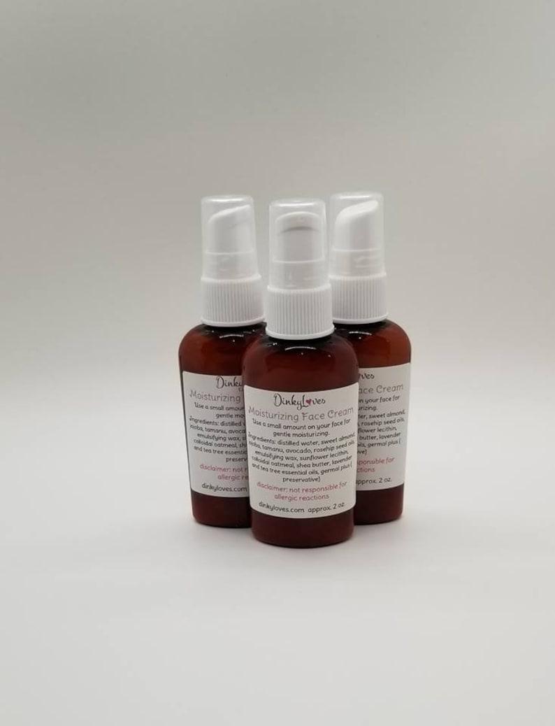 VEGAN FACE CREAM / Facial Cream / Moisture Cream/ Hand Crafted image 0