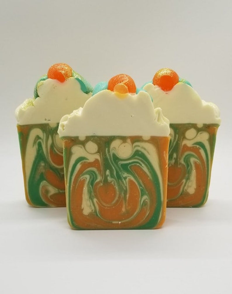 ORANGE BLOSSOM Artisan Soap / Gifts for Her / Unique Gift image 0