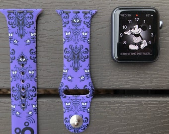 Haunted Mansion Apple Watch Band - Silicone Sport Band