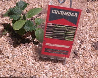 Package of 10 Garden Marker Cards for your vegetables