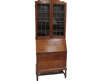 Antique Secretary Desk Etsy >> Drop Down Desk Etsy