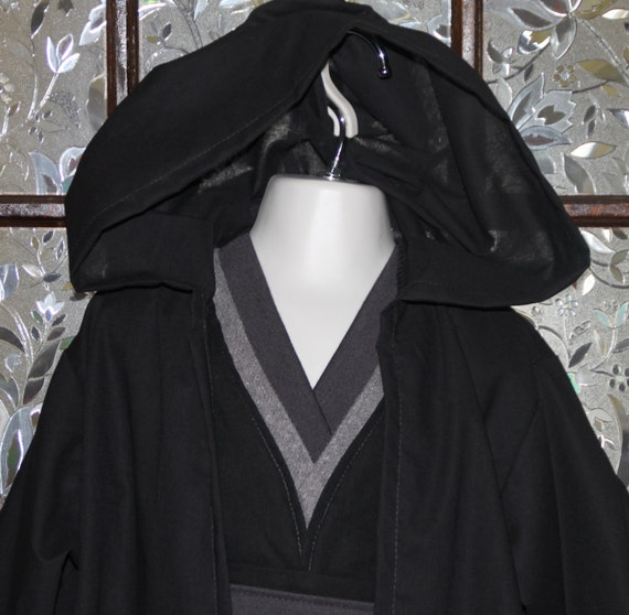 Toddler or child Sith inspired costume dark Jedi star   Etsy