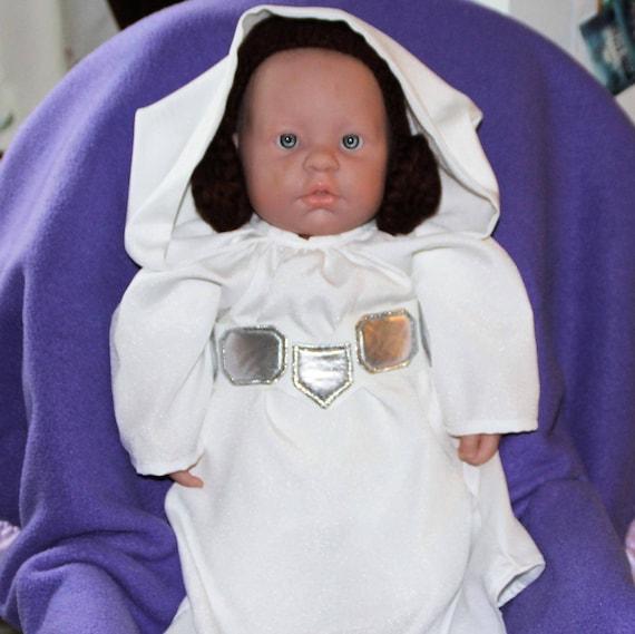 Baby Princess Leia senate ANH inspired baby  infant dress  3dd6ebb7a