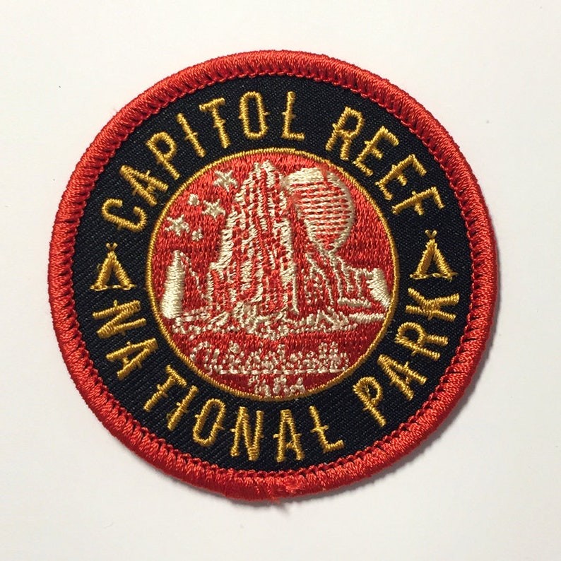 Capitol Reef National Park Patch
