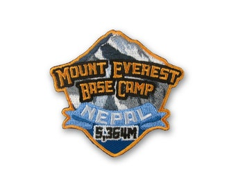 Mount Everest Base Camp Mountain Climbing Patch