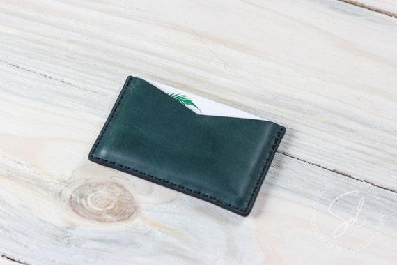 Visitenkartenetui Leder Karte Fall Personalisierte Geldbörse Leder Kartenhalter Karte ärmel Visitenkarten Etui Leder Brieftasche