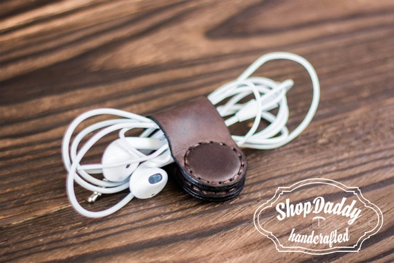 Personalized Macarons Genuine Leather Money Clip