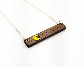 Arcade Bar Necklace | Gaming Necklace | Geek Necklace | Gift For Gamer