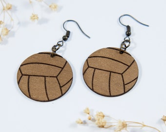 Volleyball Dangle Earrings