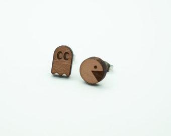 Video Game Earrings | Pac Man earrings | Atari Earrings | Nerd Earrings