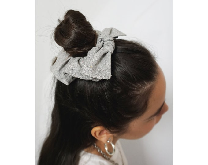 Blunt Bow - Recycled Fiber Scrunchie