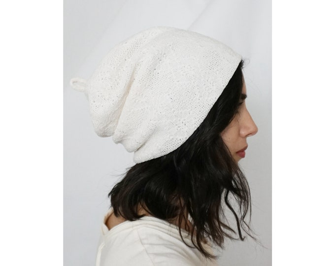 Recycled - 'Bisou Beanie' | Ivory